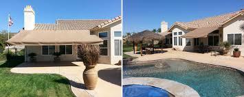 Sunbrella Retractable Awning Prices Awnings Canopies Sun Shades U0026 Solar Screens El Cajon Die