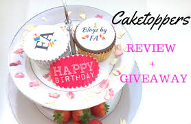 Personalised Cupcakes Caketoppers Personalised Cupcakes Review Giveaway Blogs By Fa