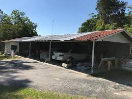 Open Carports From Carports To Garages Abandoned