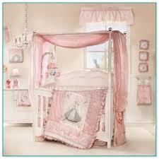 canopy crib bedding sets