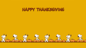 snoopy thanksgiving wallpaper backgrounds widescreen 6933139