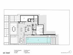 house plans one floor modern glass house plans