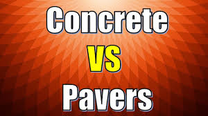 Envirobond Polymeric Sand by Pavers Vs Concrete Difference Between Pavers And Concrete Youtube