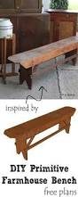 Indoor Wooden Bench Plans Free by Diy Farmhouse Bench Farmhouse Bench Bench Plans And Free