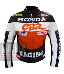 cheap honda cbr honda cbr orange jacket cowhide motorbike leather jacket