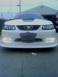 2003 04 mustang cobra fog light bezel kit axial mustang replacement fog light left side right side 49325 99