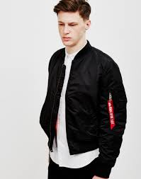 mens leather jacket black friday alpha industries ma1 vf 59 bomber jacket black on sale now