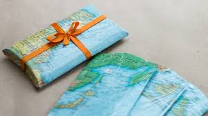 travel gift cards wrap christmas gift cards ideas travel theme world map gift package