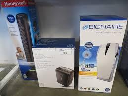 tower fan with air purifier boxed honeywell tower fan bionaire air purifier 12 sheet paper shredder