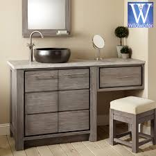 Bathroom Furniture Sink Bathroom Furniture Teak Oak And Mahogany Vanities Regarding Ideas