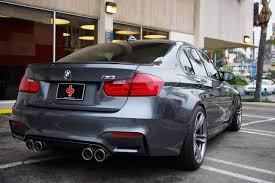 Bmw M3 Blacked Out - my mg f80 w kw h a s spacers remus blacked out trim updated