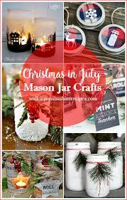 Decorated Jars For Christmas Decorating How To Make Crafts For Christmas Now In July Walking