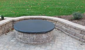 Firepit Lid Outdoor Pit Covers Ideas To Cover Sunbrella Steel