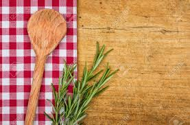Wooden Kitchen Table Background Checkered Table Cloth Stock Photos Royalty Free Checkered Table
