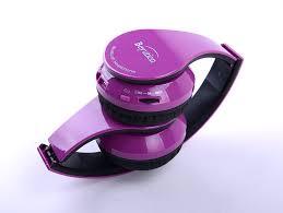 Deep Purple Color Amazon Com Brand New Deep Purple Hi Fi Over Ear Stereo Bluetooth