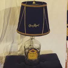Crown Royal Gift Set My Second Crown Royal Lamp It Takes 5 Bags To Make Al 10