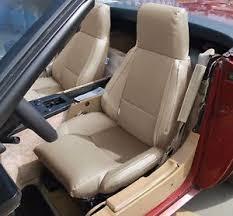 corvette seat covers c4 chevy corvette c4 type3 1984 1993 beige s leather custom fit seat