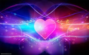 colorful abstract wallpaper with love hd abstract
