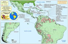Caribbean Ocean Map by World Map Latin America And Caribbean