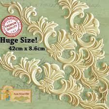 シ3 x large provincial ornamental molding resin wood