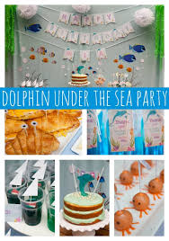 the sea party dolphin the sea party pretty my party