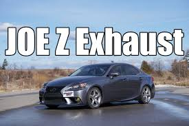 2014 lexus is350 jdm 2014 2016 lexus is350 joe z custom exhaust youtube