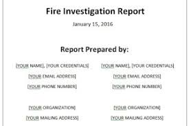 investigation report template corruption investigation report template archives sle templates