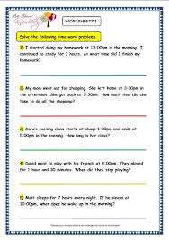 free worksheets time word problems worksheets for grade 3 free