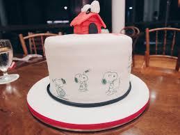 snoopy cakes snoopy fondant cake a chia