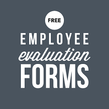 employee evaluation form performancereviews net