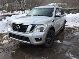 nissan armada light bar on the road review nissan armada platinum mount desert islander