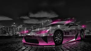 lfa lexus black lexus lfa crystal city car 2014 el tony