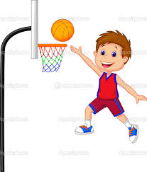 playing basketball clipart clipartxtras