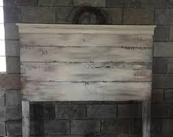 Rustic King Headboard Weathered Gray Rustic Wood Headboard Weathered
