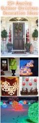 Homemade Outdoor Christmas Decorating Ideas 25 Amazing Diy Outdoor Christmas Decoration Ideas For Creative