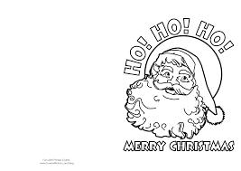 printable christmas cards kids color fun