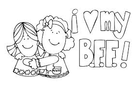 free printable coloring friend coloring pages 37