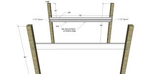 Free Bunk Bed Plans 2x4 by Free Woodworking Plans To Build A Full Sized Low Loft Bunk The
