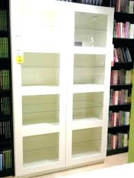 bookcase cabinet with glass doors vintage bookcase glass doors