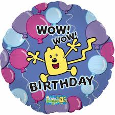wow wow wubbzy birthday foil balloon