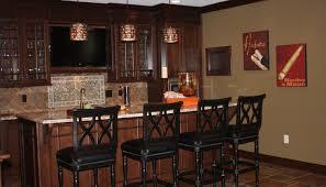 Wet Bar Countertop Ideas Bar Remarkable Basement Kitchen Ideas Showing Narrow Space