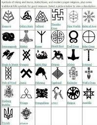 collection of 25 new pagan symbols designs