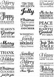 season s greetings st set papertrey ink clear sts dies