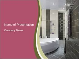 bathroom design templates bathroom design powerpoint template backgrounds id 0000015328