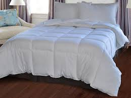 Organic Down Alternative Comforter Amazon Com Natural Comfort White Down Alternative Comforter With