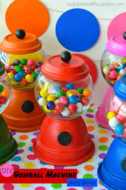 gumball party favors diy gumball machine party favors
