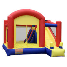 goplus super slide castle inflatable bounce house moonwalk jump