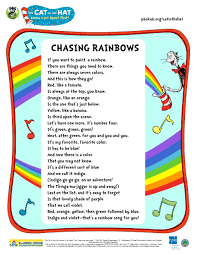 cat in the hat writing paper hat dr seuss printable rhymes evening family storytime dr lyrics to the cith chasing rainbows song