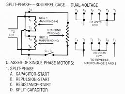 single phase dual voltage motor wiring diagram efcaviation com