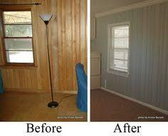 paint paneling diy home repair hack easily paint over wood paneling woods house